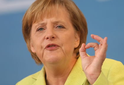 "Angela Merkel tells China ""The Euro has made Europe stronger"""
