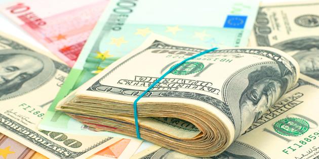 euro eur to us dollar usd exchange rate plummets on. Black Bedroom Furniture Sets. Home Design Ideas