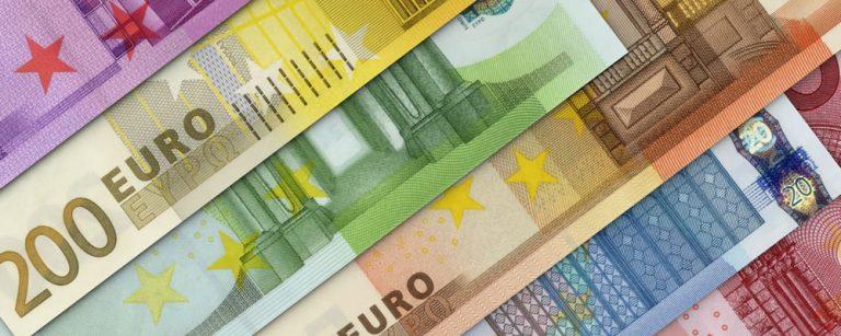 Euro EUR exchange rates