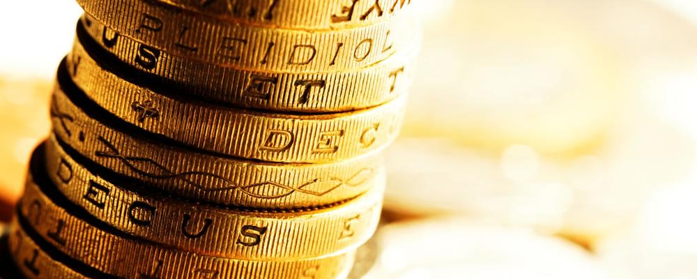 Pound Euro US Dollar GBP EUR USD Rates Fell Last Week With UK Forecasts Bleak